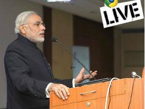 Narendra Modi Talks On Vibrant Growth Model