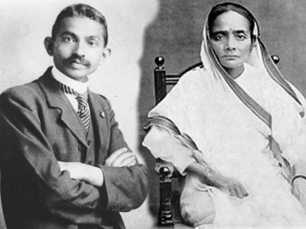 Gandhi Could Not Become Barrister Without Kasturba