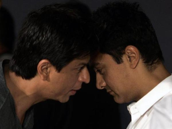 Shahrukh Khan And Aamir Khan Together In Bombay Talkies
