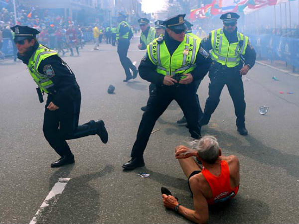 Boston Marathon Blasts Kill 3 Wound More Than