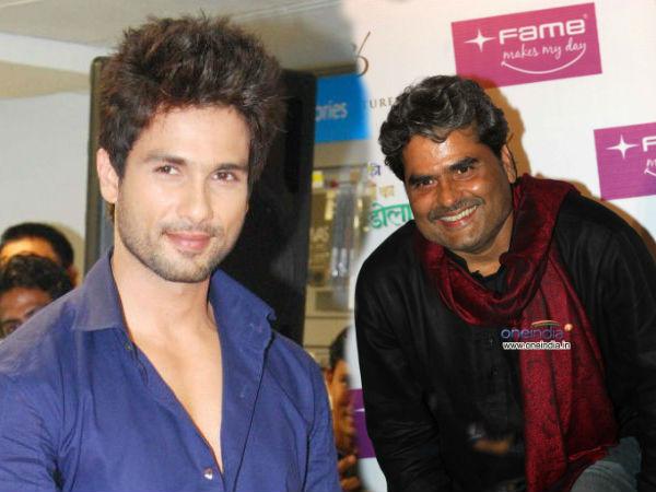 Vishal Bhardwaj Signs Shahid Kapoor Shakespearean Film
