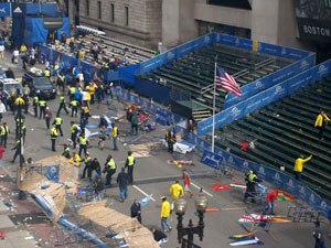 One Boston Marathon Blast Suspect Killed