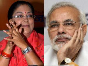 Narendra Modi Is Perfect For Pm Post Vasundhara Raje