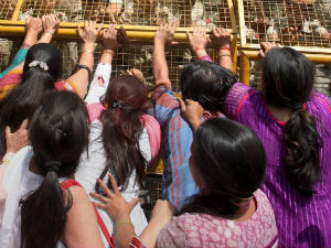 Bjp Woman Worker Protest At 10 Janpath