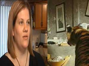 Jenna Krehbiel Comes Face Face With Tiger In Restroom