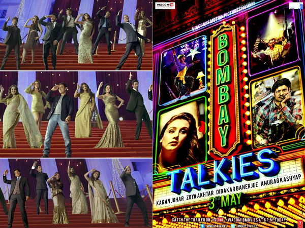 Screen Stars Unite For Bombay Talkies Song
