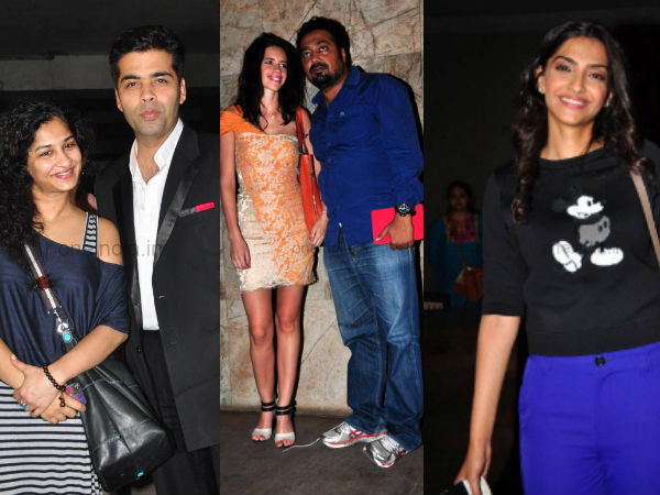 Star Studded Screening Held For Bombay Talkies