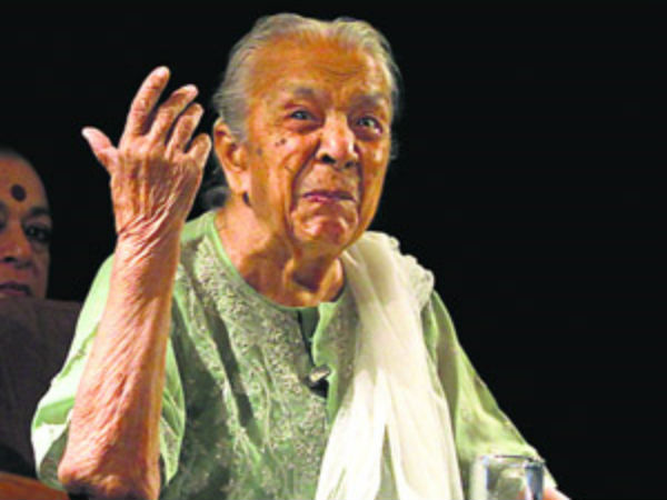 Zohra Sehgal Doyenne Indian Theatre Dies At