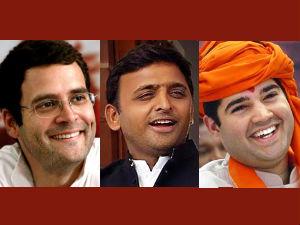 Hard Test Rahul Akhilesh Varun In Lok Sabha Election