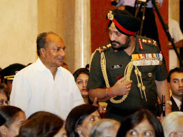 We Are Not Responsible For Chinese Intrusion A K Antony