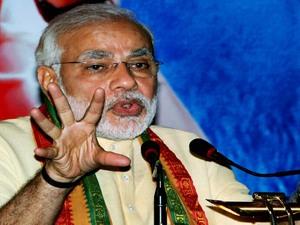 Modi Adressed Public Meet At Belgaum