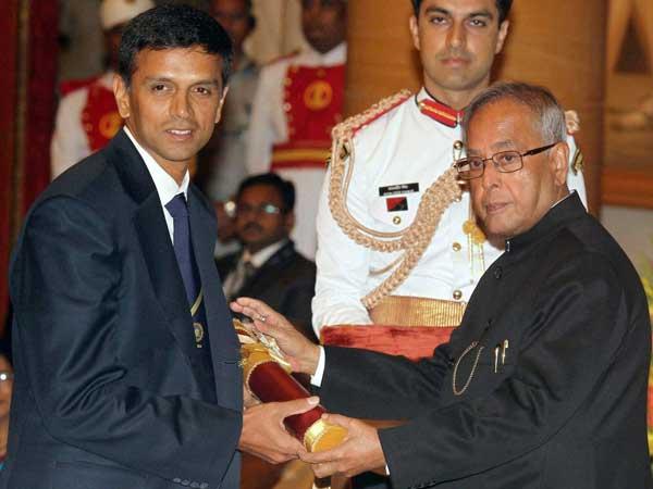 I Was Lucky Play India Rahul Dravid