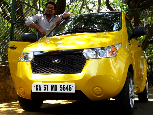 Mahindra Reva E2o Road Test Review
