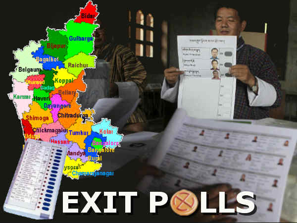 Karnataka Exit Polls Predicts Congress As Largest Party