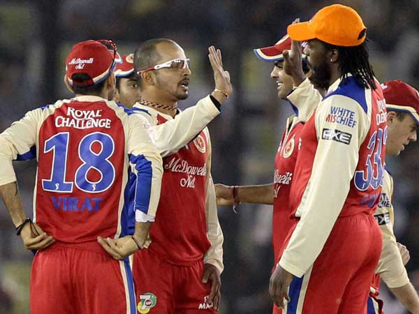 Punjab defeats to Bangalore by 6 wickets