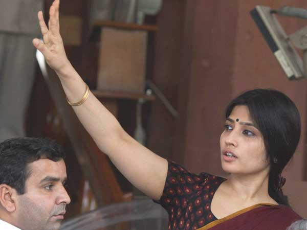 Samajwadi Party Mp S Dimple Yadav At Parliament House