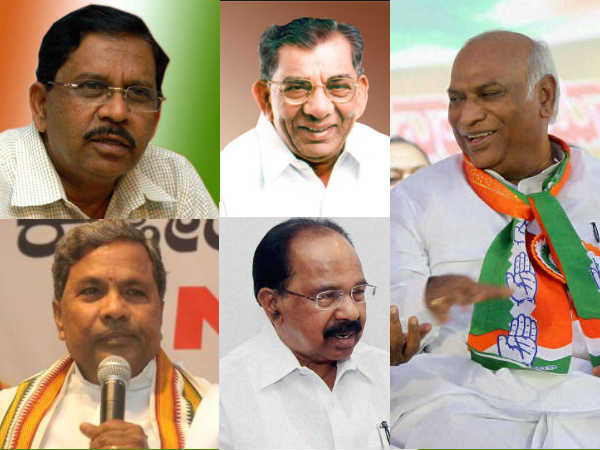 Five Probables In Congress For Karnataka Chief Minister
