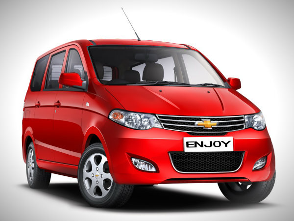 Chevrolet Enjoy Mpv Launched India Price Features Specs
