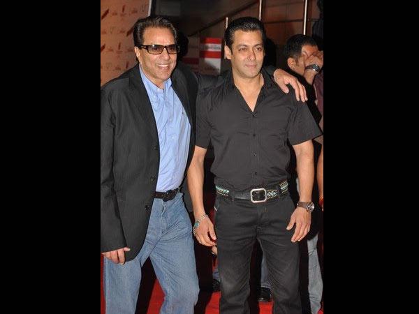 I See Lot Myself Salman Khan Dharmendra