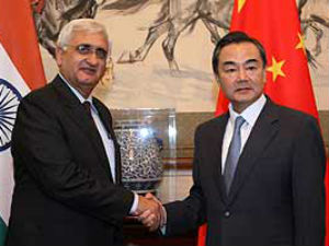 China Has Not Given Any Reason For Intrusion Khurshid