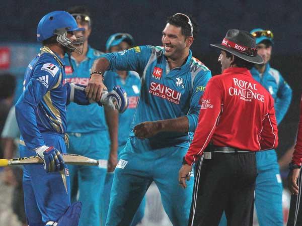Ipl 6 Mumbai Indians Defeat Pune Warrior India 5 Wicket