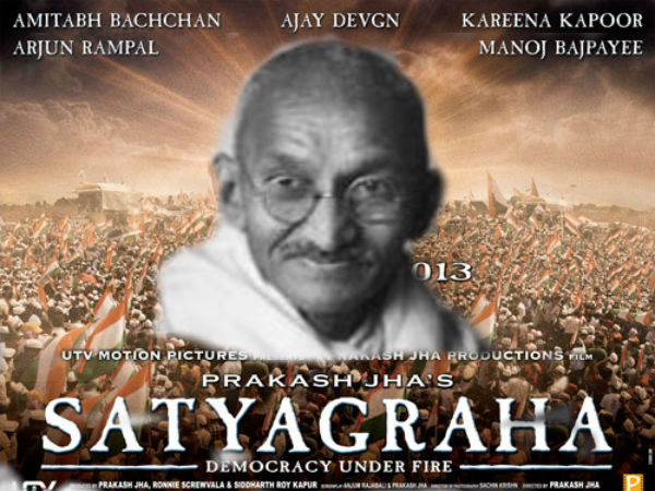 Satyagraha To Begin With Gandhis Quote