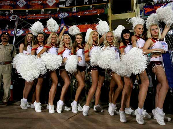 Sports Cheer Girls In Ipl