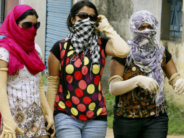 Hot Day India Temperature Soars