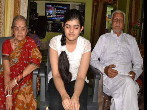 Visually Impaired Girl Becomes District Topper In Mp