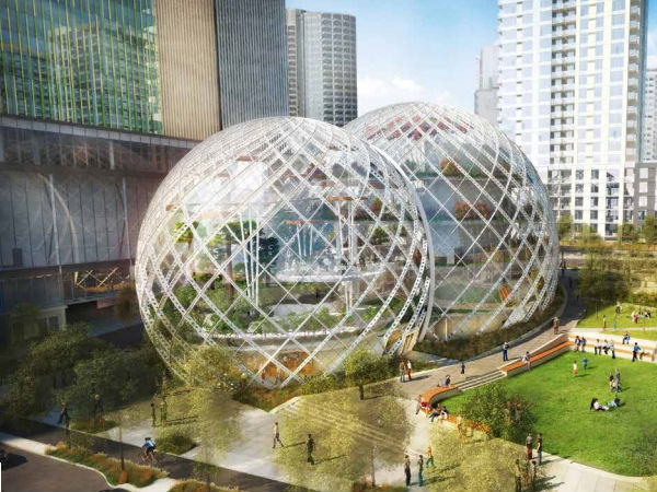 Amazon Has Plans A Crazy Glass Dome Headquaters