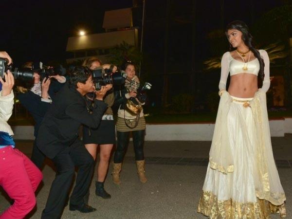 Sherlyn Chopra Looks Stunning In Cannes