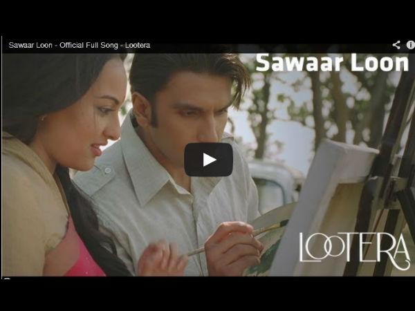 Dabangg Girl Sonakshi Wears Nine Sarees In Lootera