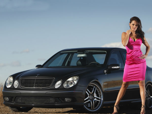 Ladies With Mercedes Benz