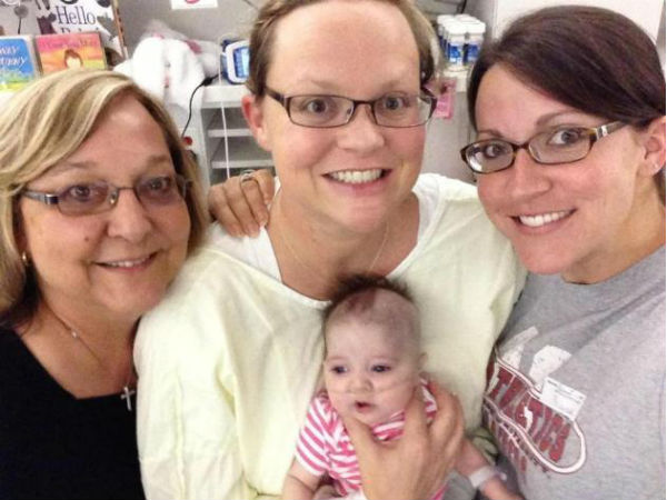 Woman Dies Delivers Baby Returns To Life