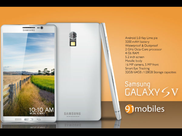 Samsung Galaxy S5 Features Leaked