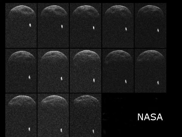 Giant Asteroid Safely Sails Past Earth