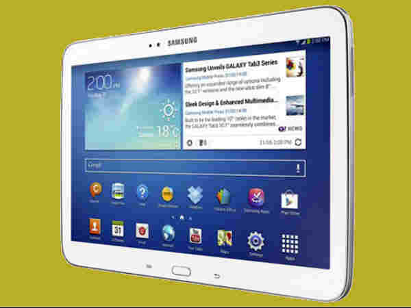 Galaxy Tab 3 You Speak And Mail Will Be Typed Autometic