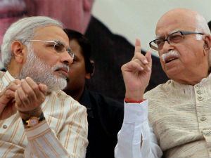 Modi Urged Advani Change His Decision