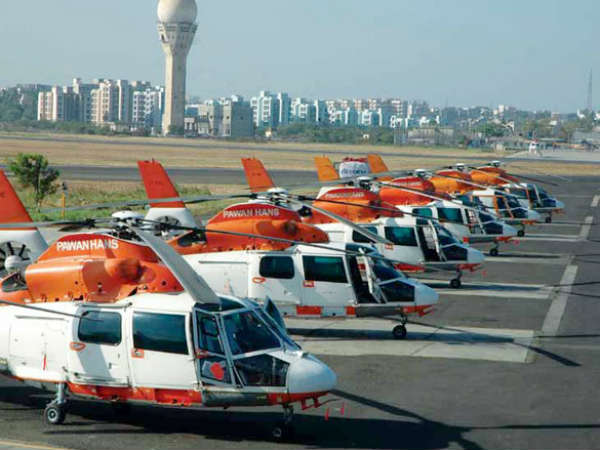 Pawan Hans Services Between Kanpur And Lucknow In