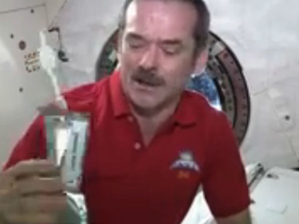 Chris Hadfield Taught Us About Space News Vedios