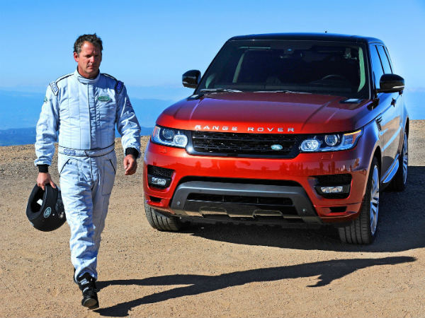 Range Rover Sport Pikes Peak Hill Climb Record