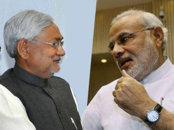 Bjp Releases Nitishs 2003 Speech Praising Narendra Modi