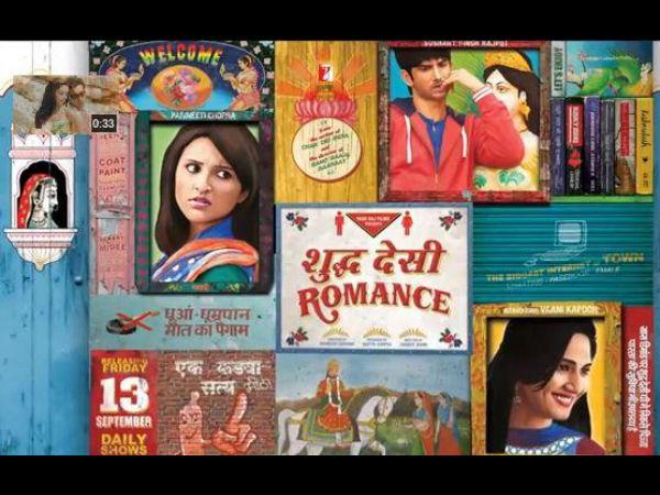 Sushant Parineeti In Shuddh Desi Romance