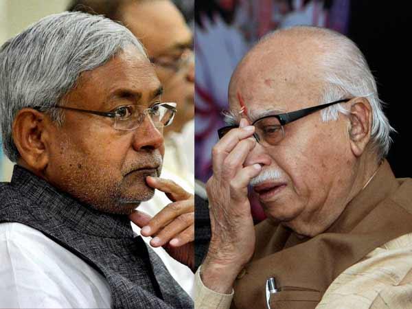 Advani Nitish Threw Themselves Into History Dustbin