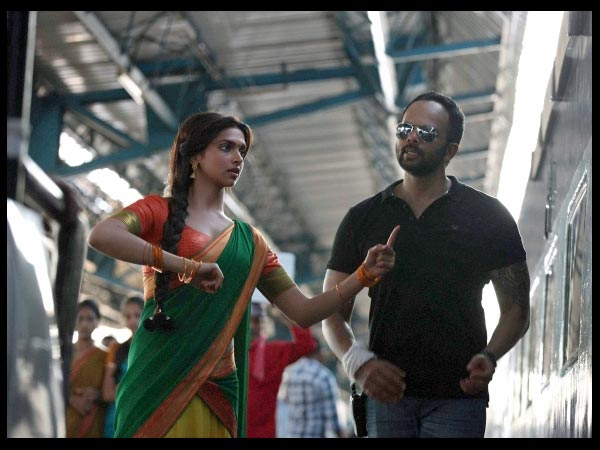 Deepika Padukone Lives Her Ddlj Moment Chennai Express