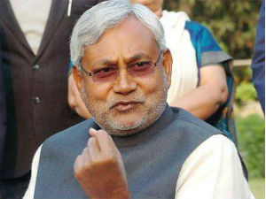Nitish Condemns Blasts Seeks Cisf Security For Temple