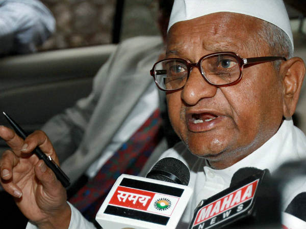 Anna Warns Of Fast In Delhi From Oct 2 Over Lokpal