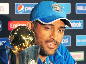 Dhoni First Captain Get Victory Three Icc Tournament