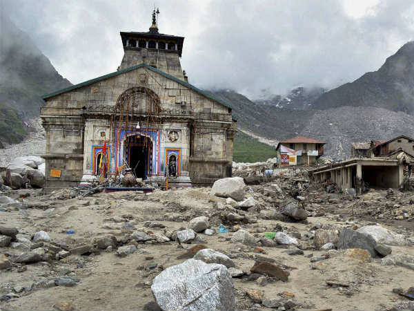 Hung From Kedarnath Temple Bell For 9 Hours In Water
