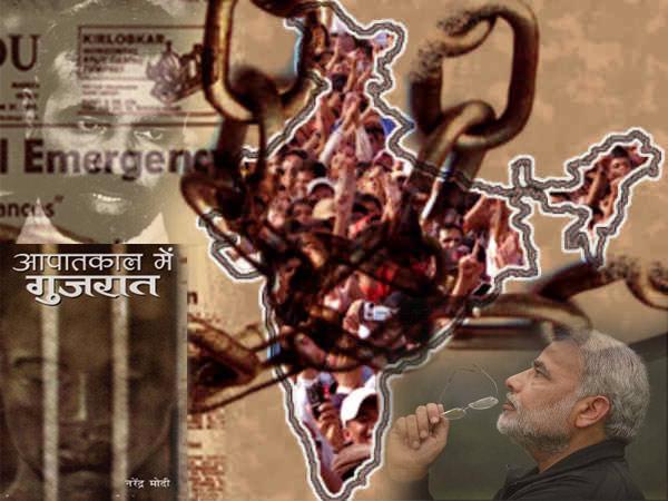 What Says Narendra Modi On Emergency